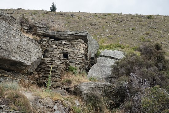 Clyde, Nouvelle-Zélande : A former dwelling of the resident miners from a bygone era