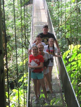 Playa Flamingo, Kosta Rika: Arenal Hanging Bridge
