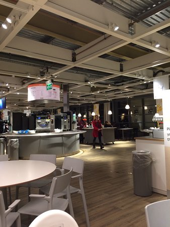 IKEA Restaurant & Paper plates and cups plastic knives and forks due to no water ...