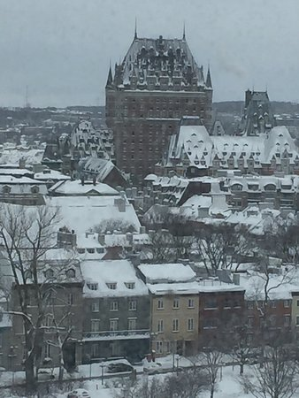 Hilton Quebec: View from room 914