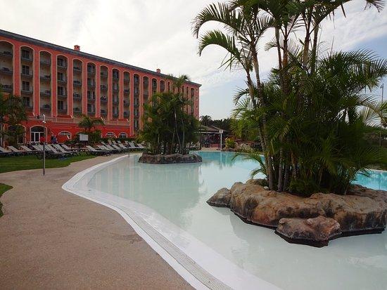 Hotel Las Aguilas : Der geheitzte Pool