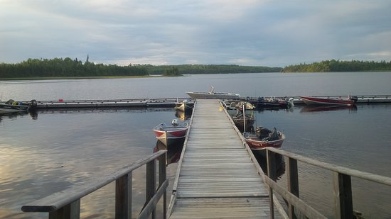 Chapleau, Canada: dock at missinaibi