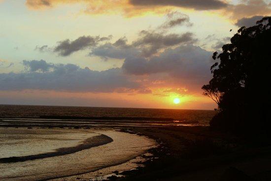 Sunrise over Mollymook Beach