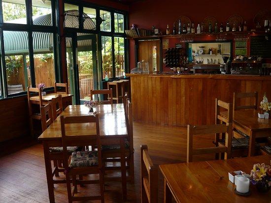 Collingwood, Nueva Zelanda: indoor dining
