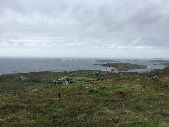 Clifden, Ireland: View from overlook