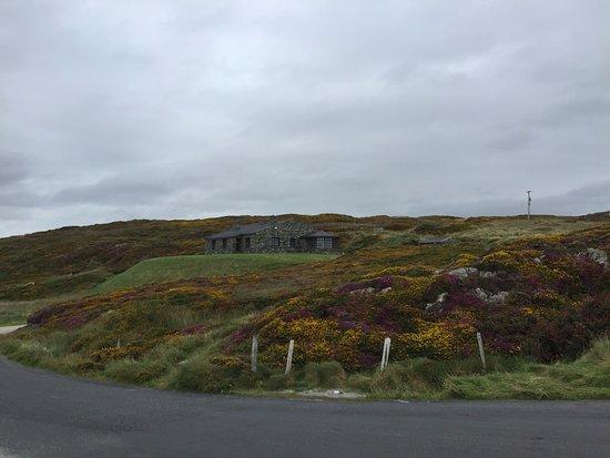 Clifden, Ireland: View across road from overlook