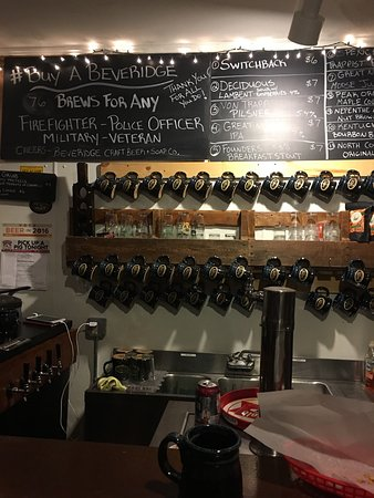 Wolfeboro, Nueva Hampshire: Beveridge Craft Beer and Soap