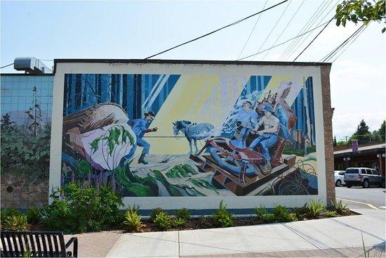 Chemainus, Canadá: Chemianus, British Columbia -   murals