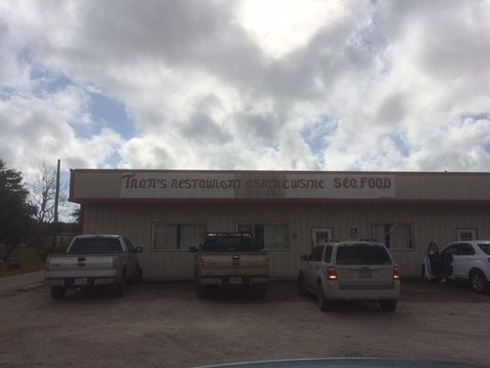 Palacios, TX: Had to park back because the lot was full.