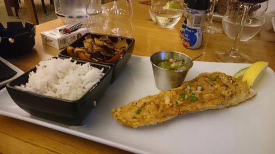 The Hideaway Restaurant: Filet de mahi mahi