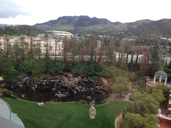 Westlake Village, Californië: View from our rooom