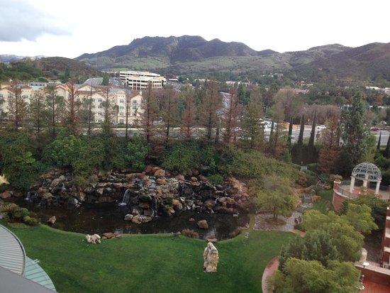 Westlake Village, كاليفورنيا: View from our rooom