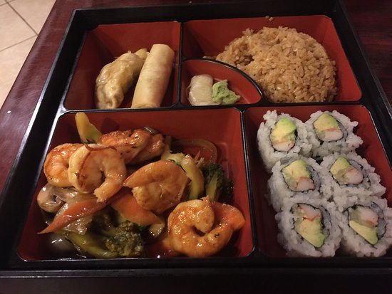 Lucedale, MS: This is the bento box, it was delicious. We will be back. Every one was sweet, nice place to eat