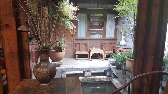 Zen Garden Hotel (Wuyi Yard): Dining room view