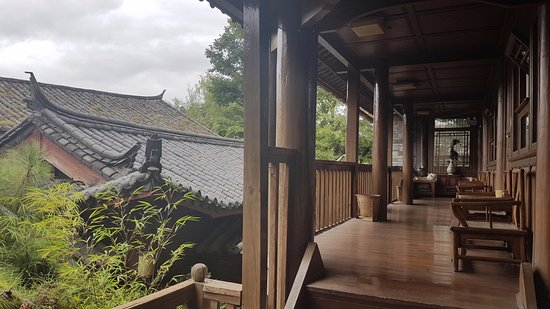 Zen Garden Hotel (Wuyi Yard): Next door neighbour rooms!