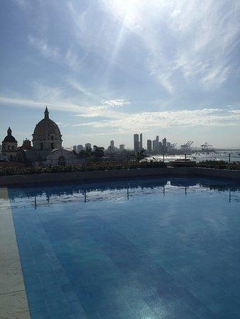 Charleston Cartagena Hotel Santa Teresa: View from the hotel's pool