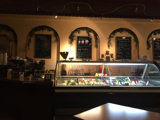 Corvallis, OR: This is a great little nook to get dessert or a hot sandwich! It was super delicious and the ser