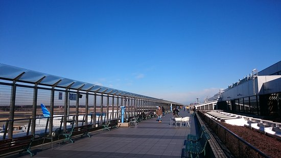 ‪Narita International Airport Terminal 1 5F Observation Deck‬