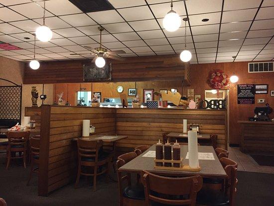 Gainesville, Geórgia: Inside restaurant