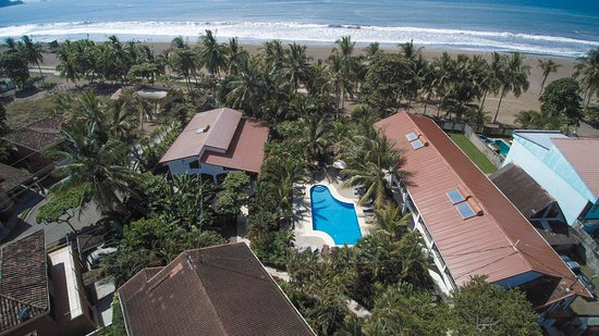 Bird's eye view of Hotel Pochote Grande
