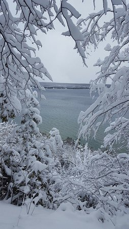 Wiarton, Canadá: View from the Snowshoe Hike