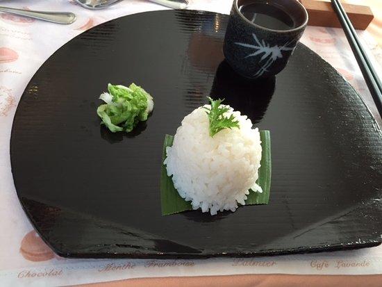 Musashino, Japón: 里芋のご飯