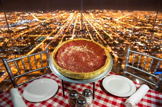 Dîner sur le Skydeck de Willis Tower