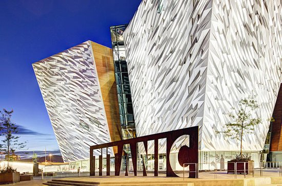 Titanic Belfast Admission Ticket with...
