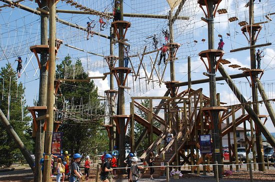Zipline Adventure Park All Day Fun en...