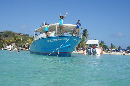 St Maarten Motorboat Cruise: Long Bay, Creole Rock and Tintamarre Island