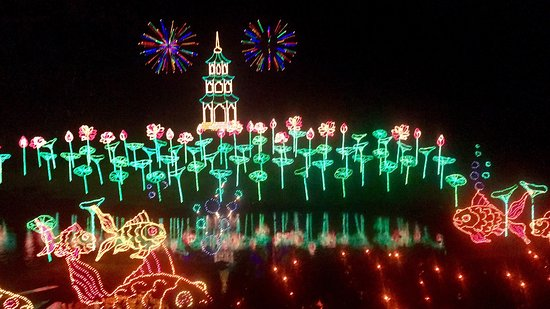 Bellingrath Gardens and Home: Christmas lights