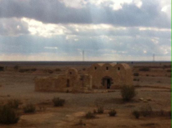 Azraq, Jordan: Il casino di caccia nel deserto