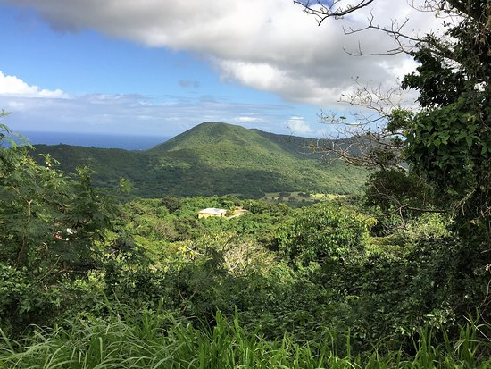 Frederiksted, St. Croix: view on top of peak