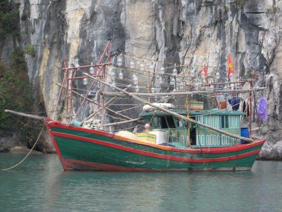 Darian Culbert: Halong Day boat