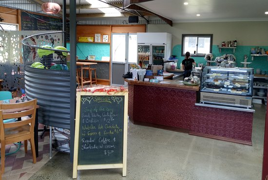 The Nippers Cafe Counter.