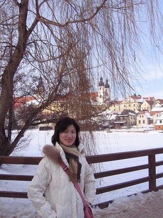 Telc, República Checa: Jezuitsky kostel Jmena Jezis (Jesuite Church)