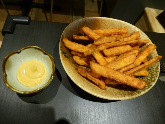 Burnaby, Kanada: One of the best Yam Fries I ever have had