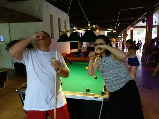 Losing the pool game