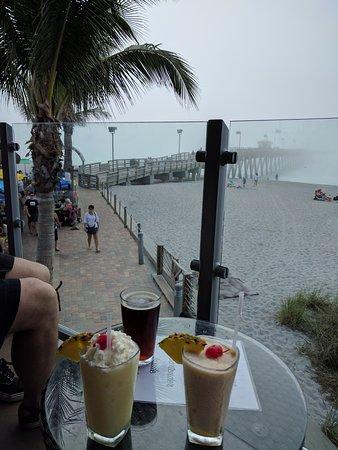 Inn at the Beach: Pier and Sharky's Restaurant