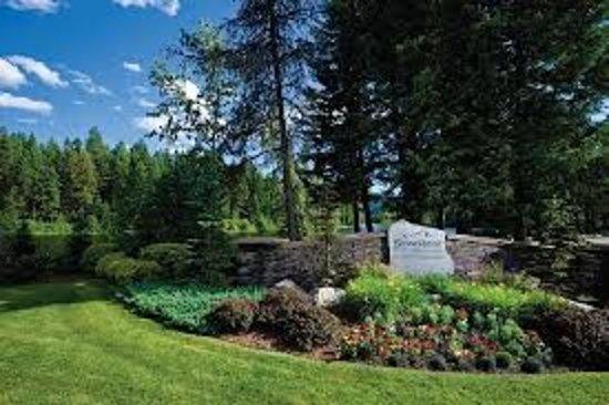 Blanchard, ID: Entrance To StoneRidge Golf and Recreational Community