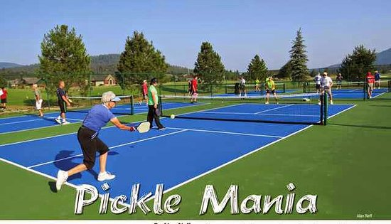 Blanchard, ไอดาโฮ: Six New Pickleball Courts