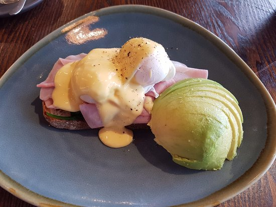 Liverpool, Australia: Eggs Benedict with Avocado added.
