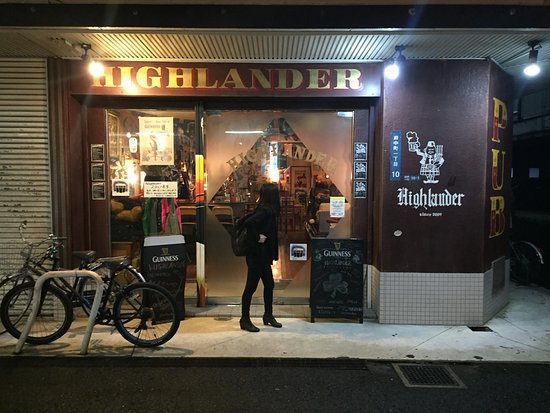 Highlander: British pub in Izumi Fuchu, Osaka
