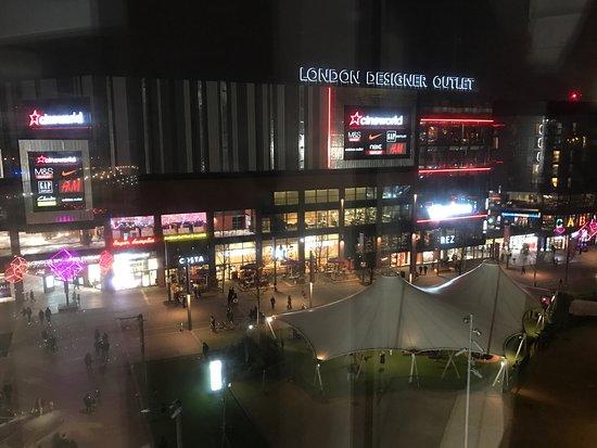 Wembley, UK : LDO from the car park storey
