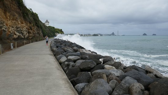 New Plymouth, Nueva Zelanda: If ir is stormy, do not select this walk