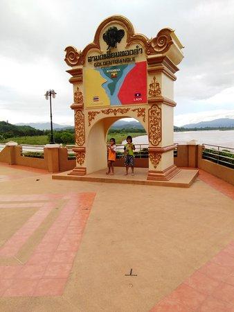 Chiang Saen, Thailand: モニュメント