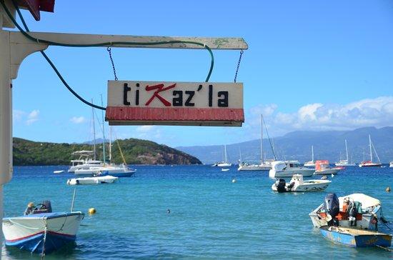 Terre-de-Haut, Guadeloupe: Entrée du restaurant