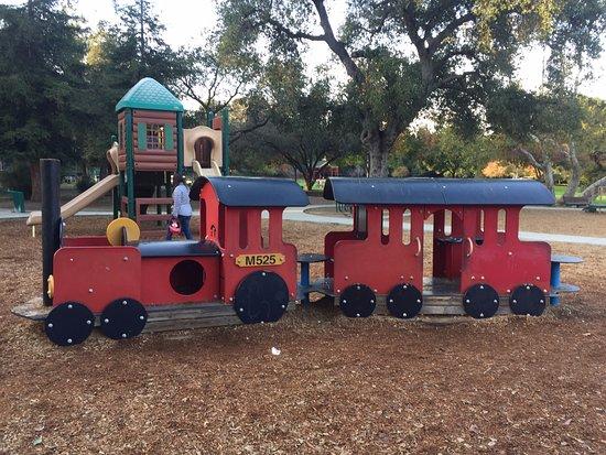 Los Gatos, CA: toy train