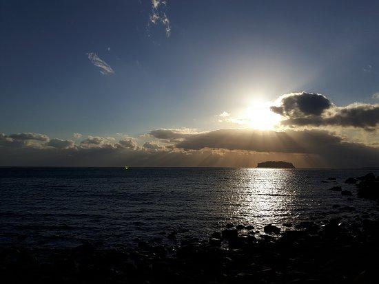Seogwipo Submarine : The sunset I saw today!