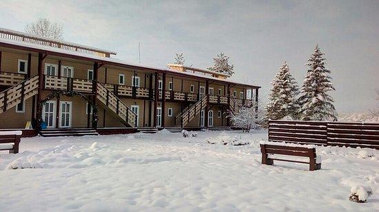 Health Resort Lago-Naki: Таунхаусы зимой